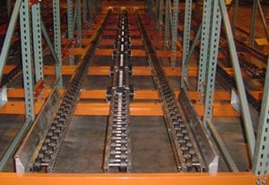 pallet racking for industrial facilities
